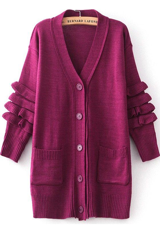 New Long Sleeve Open Pockets Fashion Girls Plain Net Lace Cardigans Age 7-13 Yr