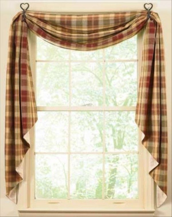 kitchen curtains | Country Home ideas | Pinterest | Cortinas y Hogar