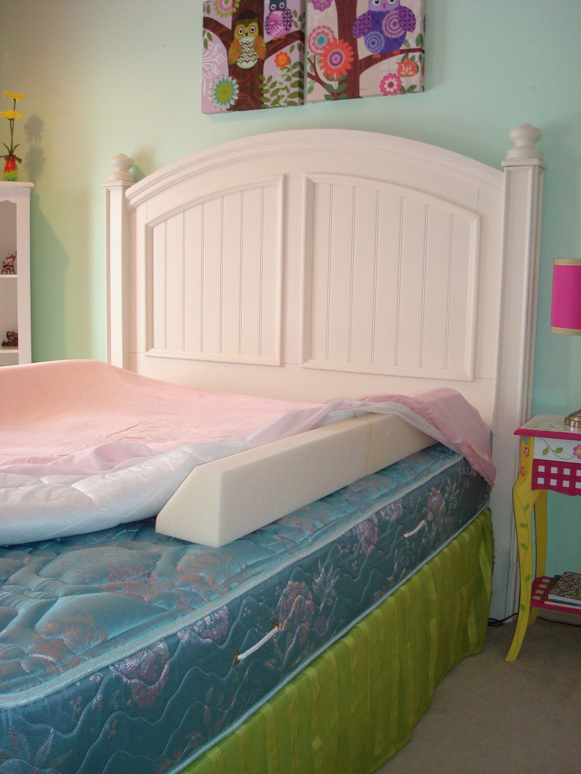 Magic bed bumpers to keep child from falling off Bed
