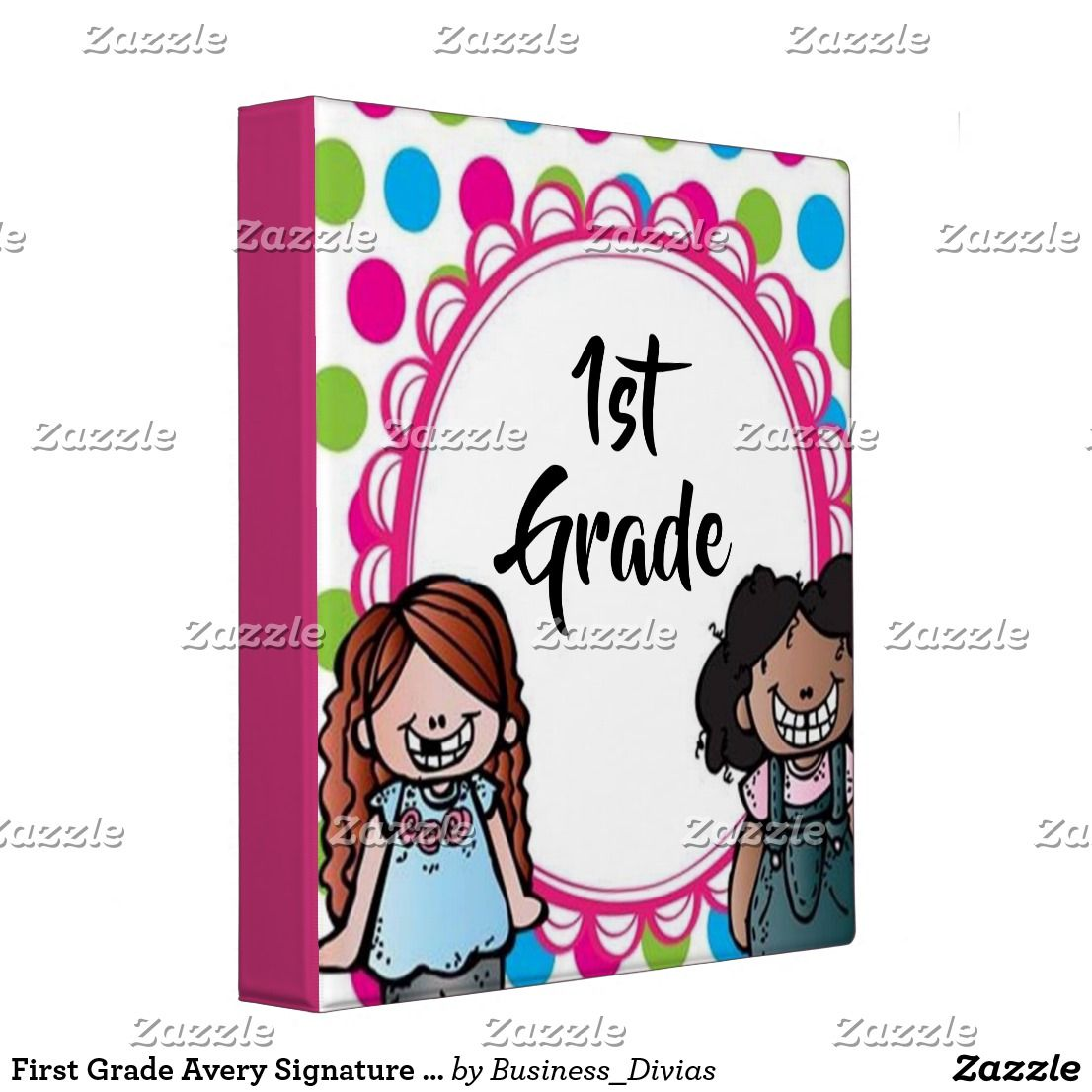 "First Grade Avery Signature 1"" Binder"