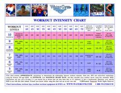 Watergym Workout Intensity Ebook  Water Aerobics Aerobics And