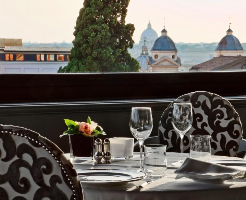 Restaurant La Terrazza Dell Eden Fine Dining In Rome