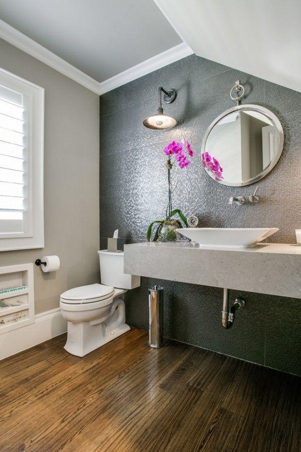 26 half bathroom ideas and design for upgrade your house - Half bath ideas on a budget ...
