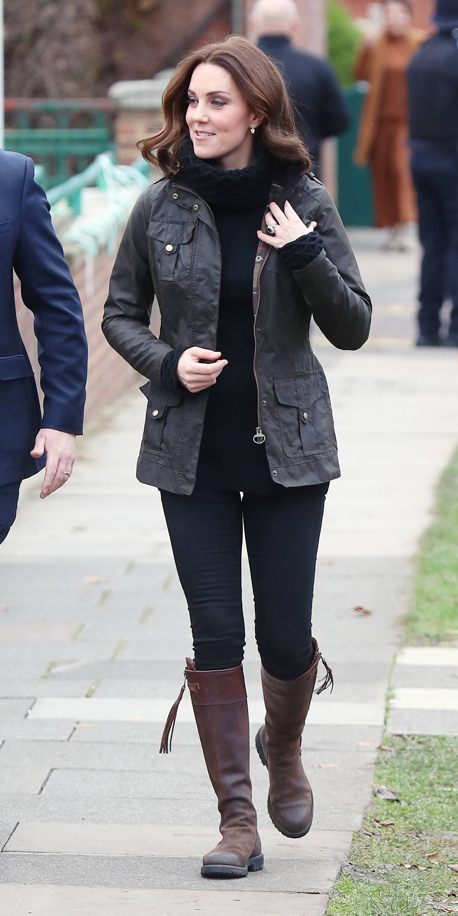 ece44c8be4d Kate Middleton Recycles the Riding Boots She First Wore While Dating ...