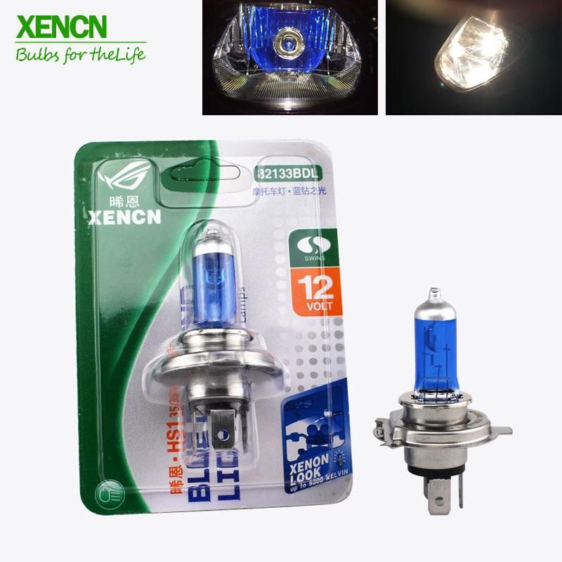 Xencn Hs1 P43t 12v 35 35w Motorcycle Headlight White Lighting Halogen Lamp Auto Light Bulbs Free Shipping Aato Lamps Motorcycle Headlight Halogen Lamp Motorcycle Accessories