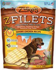 Zuke's Z-Filets Savory Chicken Recipe 7.5 oz