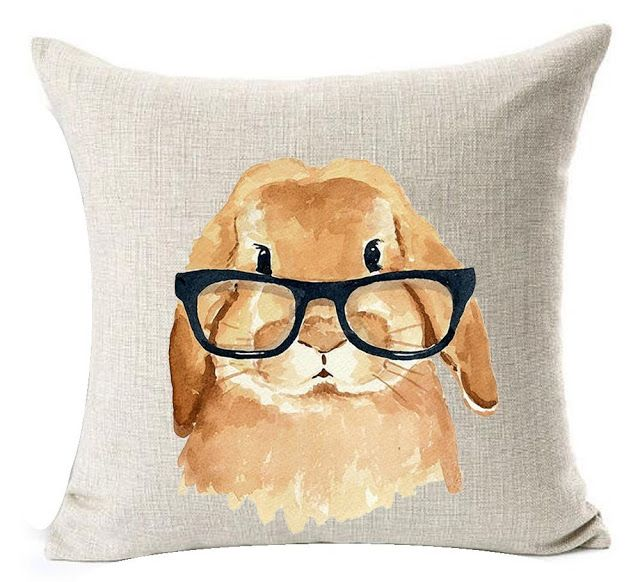 Cheap Decorative Pillows Under $10 Magnificent Bunny Easter Spring Pillow Covers For Under $10  Whimsy Girl Decorating Inspiration