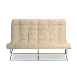 James Loveseat, Hair on Hide. William Sonoma Home.  Lots of colors. Light grey!