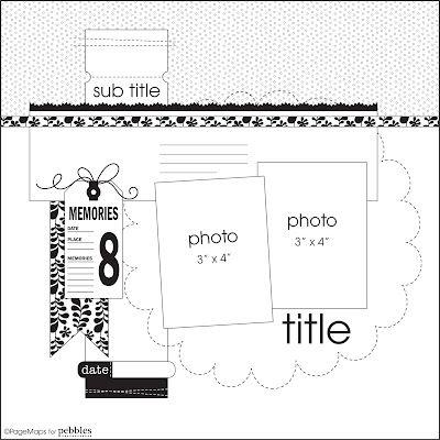 May Page Maps Etc Sketch #2 - Scrapbook.com