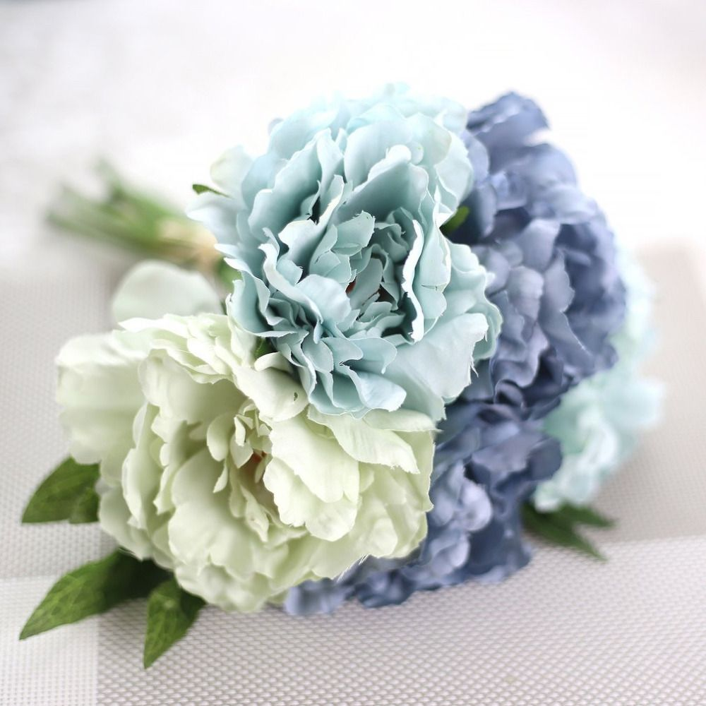 Beautiful artificial flowers fake peony bridal bouquet for wedding cheap peony bridal bouquet buy quality fake peonies directly from china flower fake suppliers beautiful charming artificial flowers fake peony bridal izmirmasajfo Choice Image