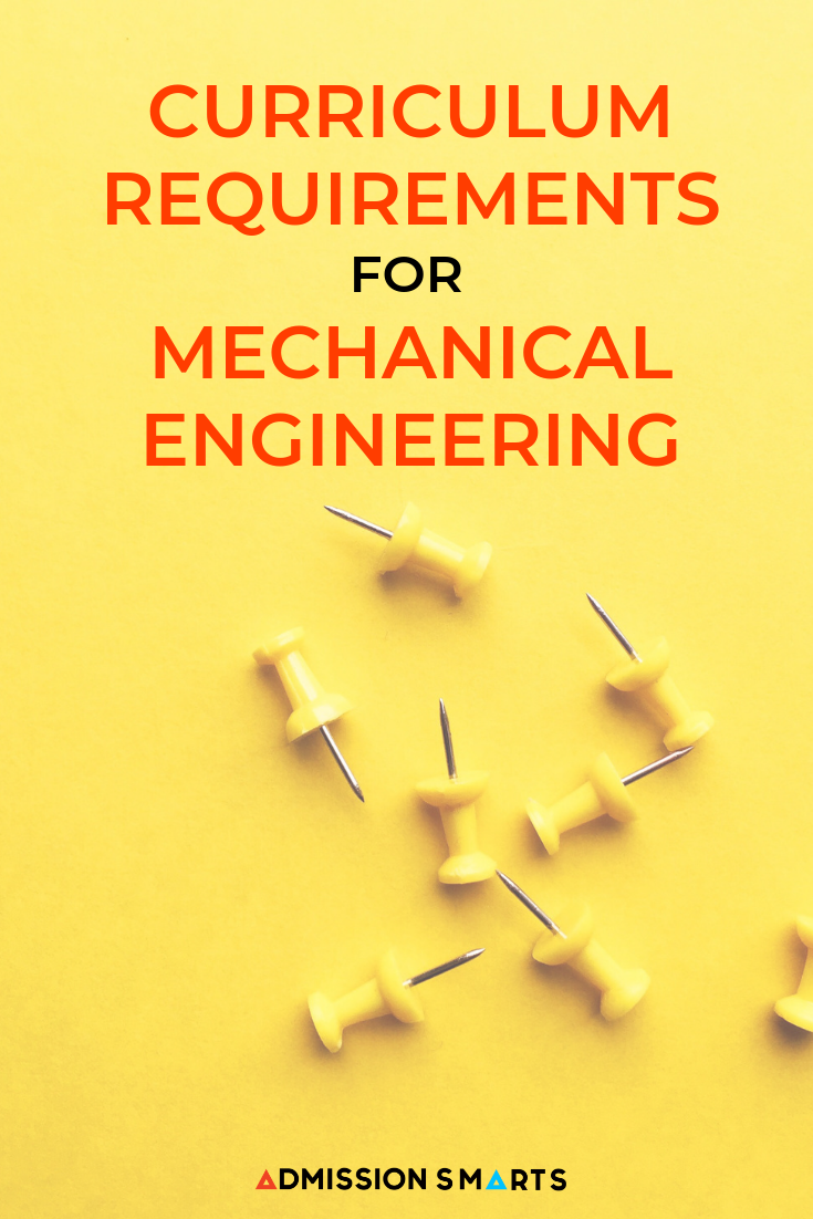 Curriculum Requirements For Mechanical Engineering Mechanical Engineering