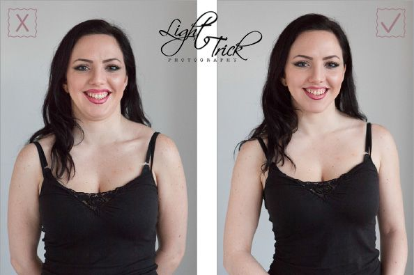 How To Avoid A Double Chin In Photos And Other Fabulous Posing Tricks Helen Reynolds Style Double Chin Portrait Photography Tips Best Photo Poses