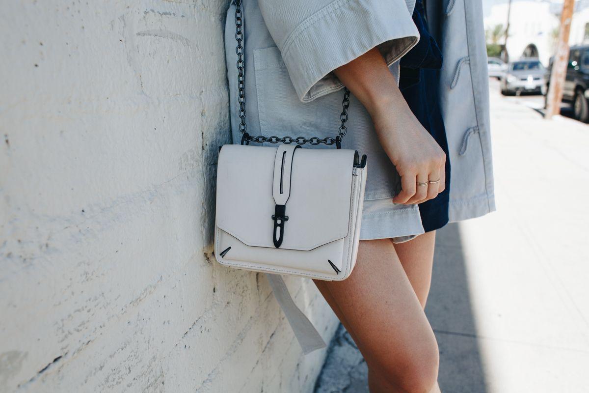 White Cross Body Bag | Rag