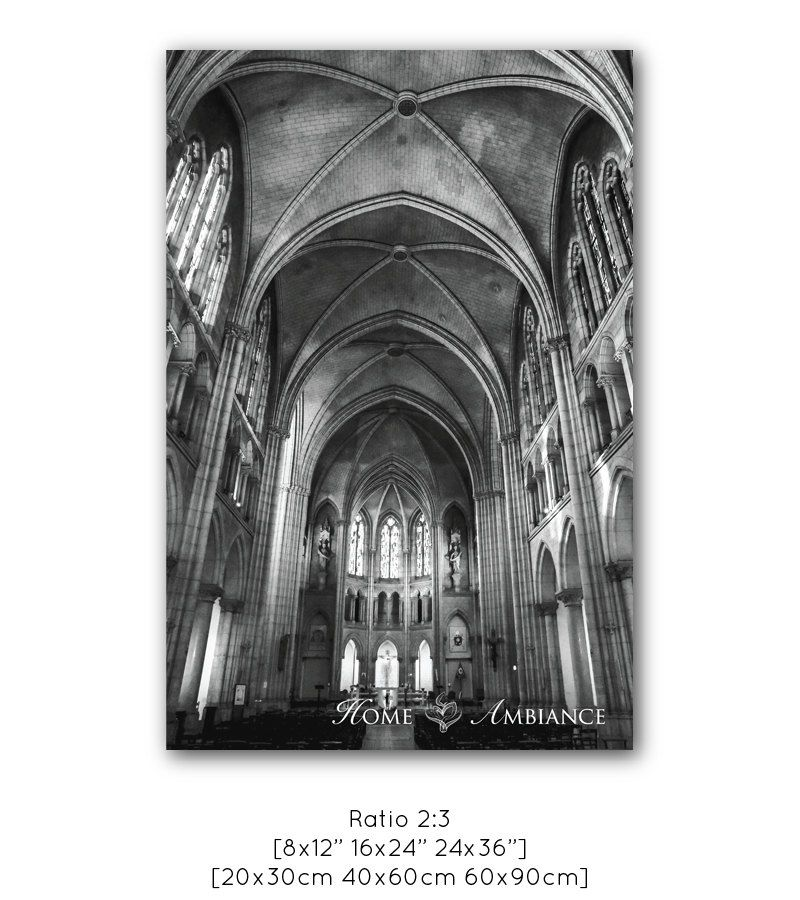 Basilique Notre Dame du Perpétuel Secours, is one of Paris's little hidden gems, and hidden it is. You could literally, pass in front of it and not know it is there. However, if you do manage to find it, and get in, you are treated to a beautiful Gothic building.