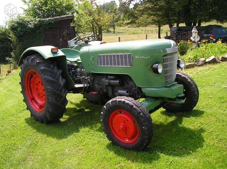 Tracteur Agricole Fendt Farmer 2 Fw 139 1960 Matériel Agricole