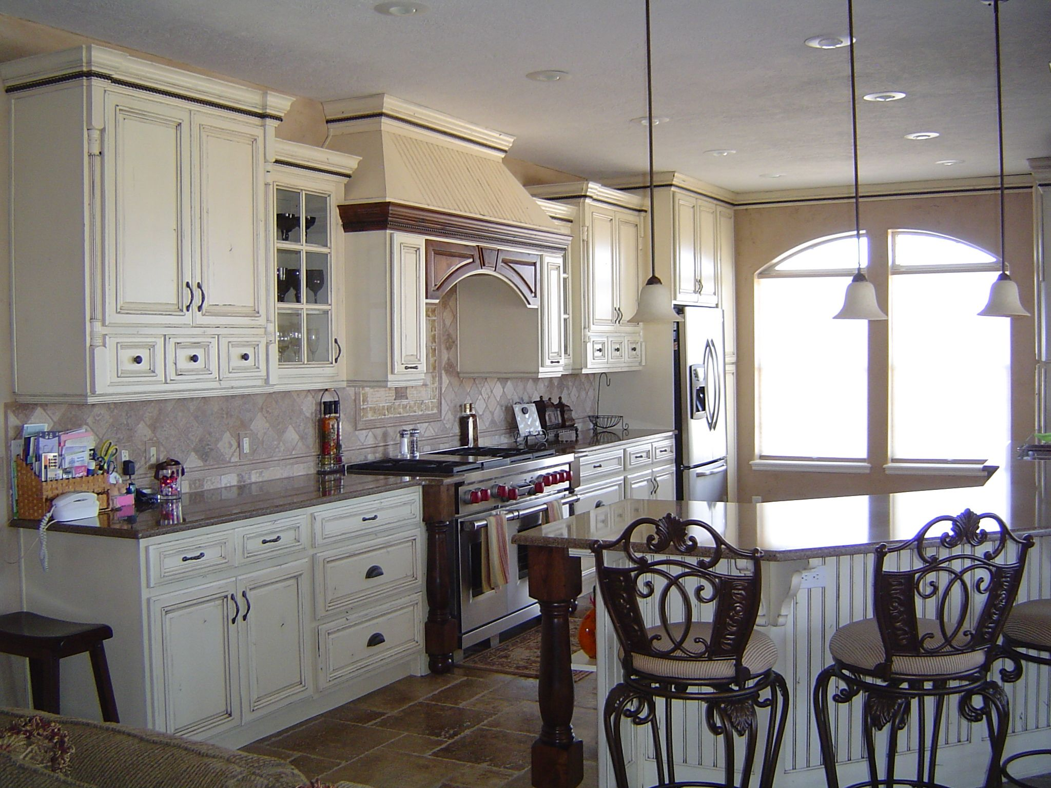 Small french country kitchens warm french countrystyle kitchen
