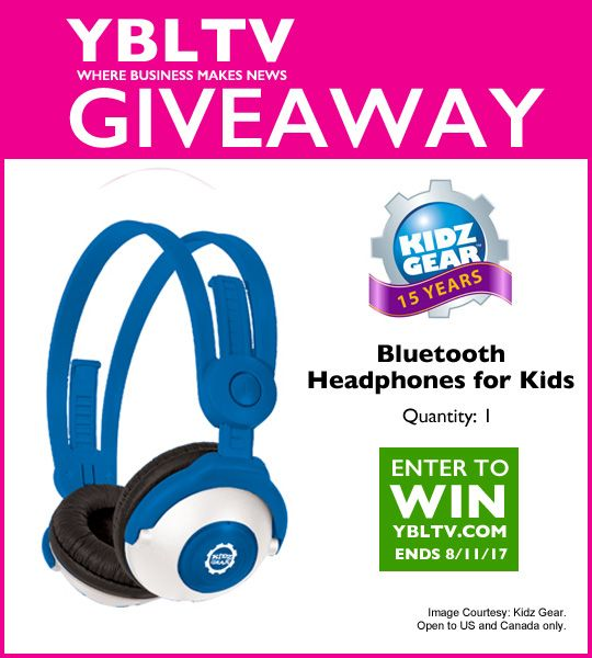 Kidz Gear Headphones Giveaway >> Ybltv Review Giveaway Kidz Gear Bluetooth Wireless Stereo