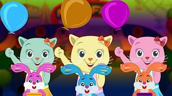Three Little Kittens Went To The Fair Nursery Rhymes By Cutians Chuchu Tv Kids Songs Youtube Kids Songs Little Kittens Nursery Rhymes