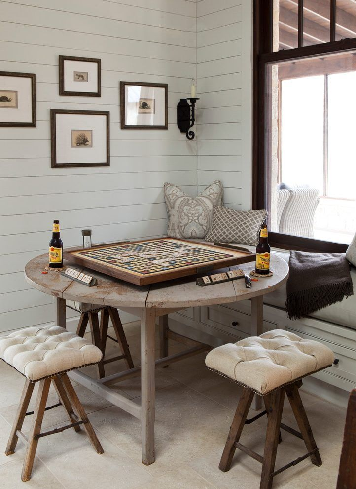 Farmhouse Dining Room Ideas With Tufted Bench Updated Tablesfamily Rooms