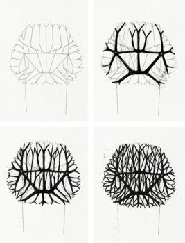 development sketches for the vegetal chair ronan erwan bouroullec design designer. Black Bedroom Furniture Sets. Home Design Ideas