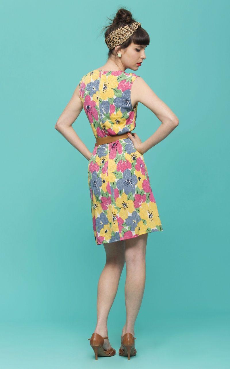 שמלת וינטג\' אביבית | רוני קנטור | מיי סטורס | Dresses | Pinterest
