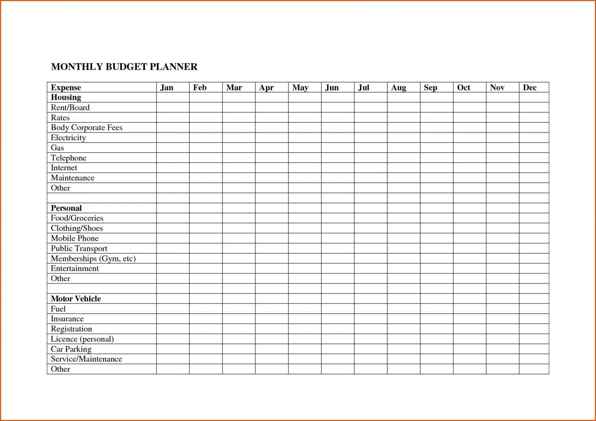 008 Template Ideas Free Bill Pay Budget Spreadsheet
