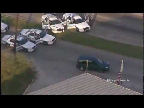 Houston Police Pursuit & Foot Chase