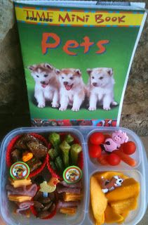 Time For Kids Pets Mini Book  with matching @EasyLunchbox lunch