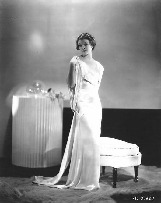 Myrna Loy (photo by George Hurrell)