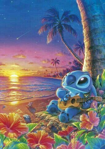 Stitch Aloha Ohana Hawaii