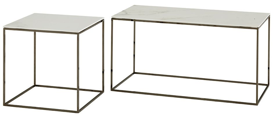 Space table by ligne roset linea steel base porcelain stoneware top cocktail tables under for Table yoyo ligne roset