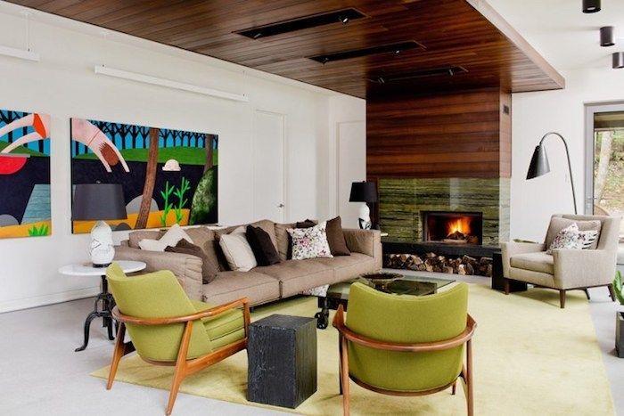 ▷ 1001 + ideen für moderne Wohnzimmer im 2018 Wohnzimmer Design - wohnzimmer ideen kamin