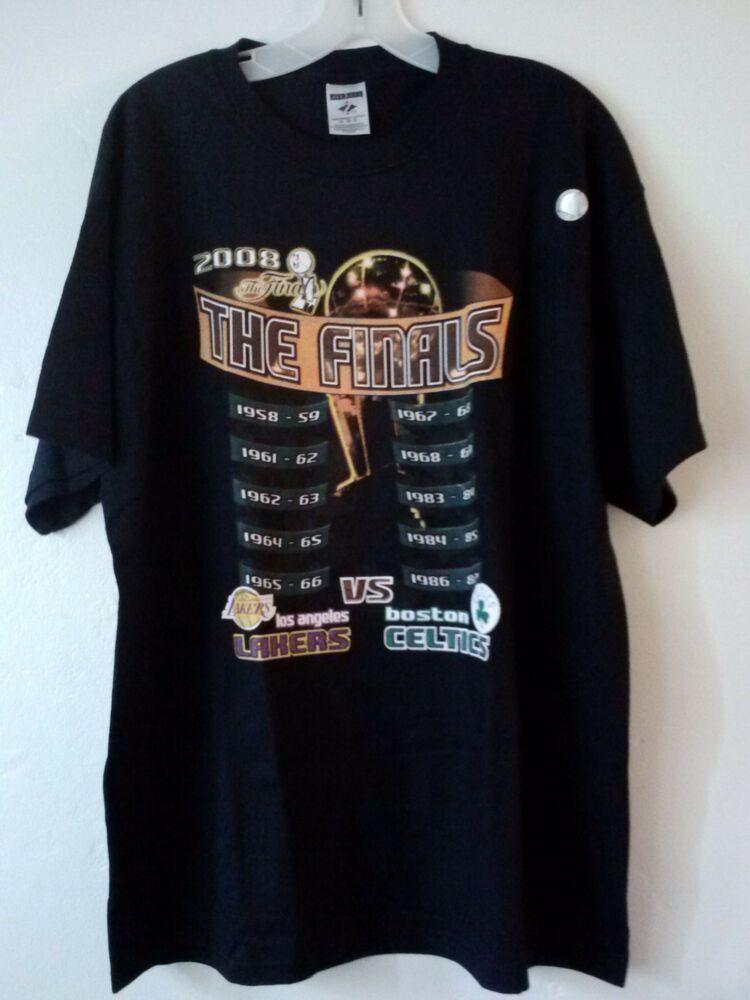 Details about LA Lakers - Boston Celtics 2008 NBA The ...