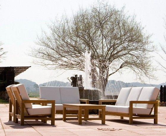 ספה תלת מושבית לגינה Outdoor Furniture Sets Furniture Design