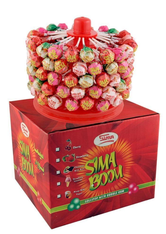 Sima Boom Sima Boom Sima Boom Chocolate Strawberries Sima Lollipop