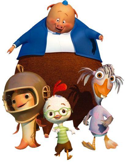 Chicken Little Chicken Little Disney Disney Pig Disney Characters