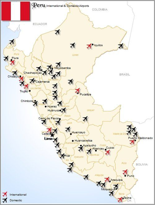 Airports In Peru Map.Peru Airports Digital Downloads Pinterest Digital And Peru