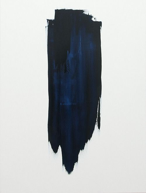 That Indefinable Blue Black Painting