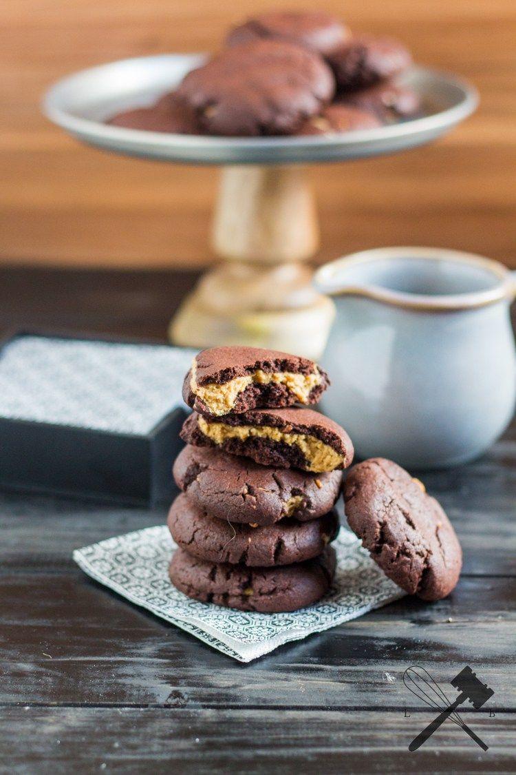 Schoko Erdnussbutter Cookies Rezept Peanutbutteraddiction