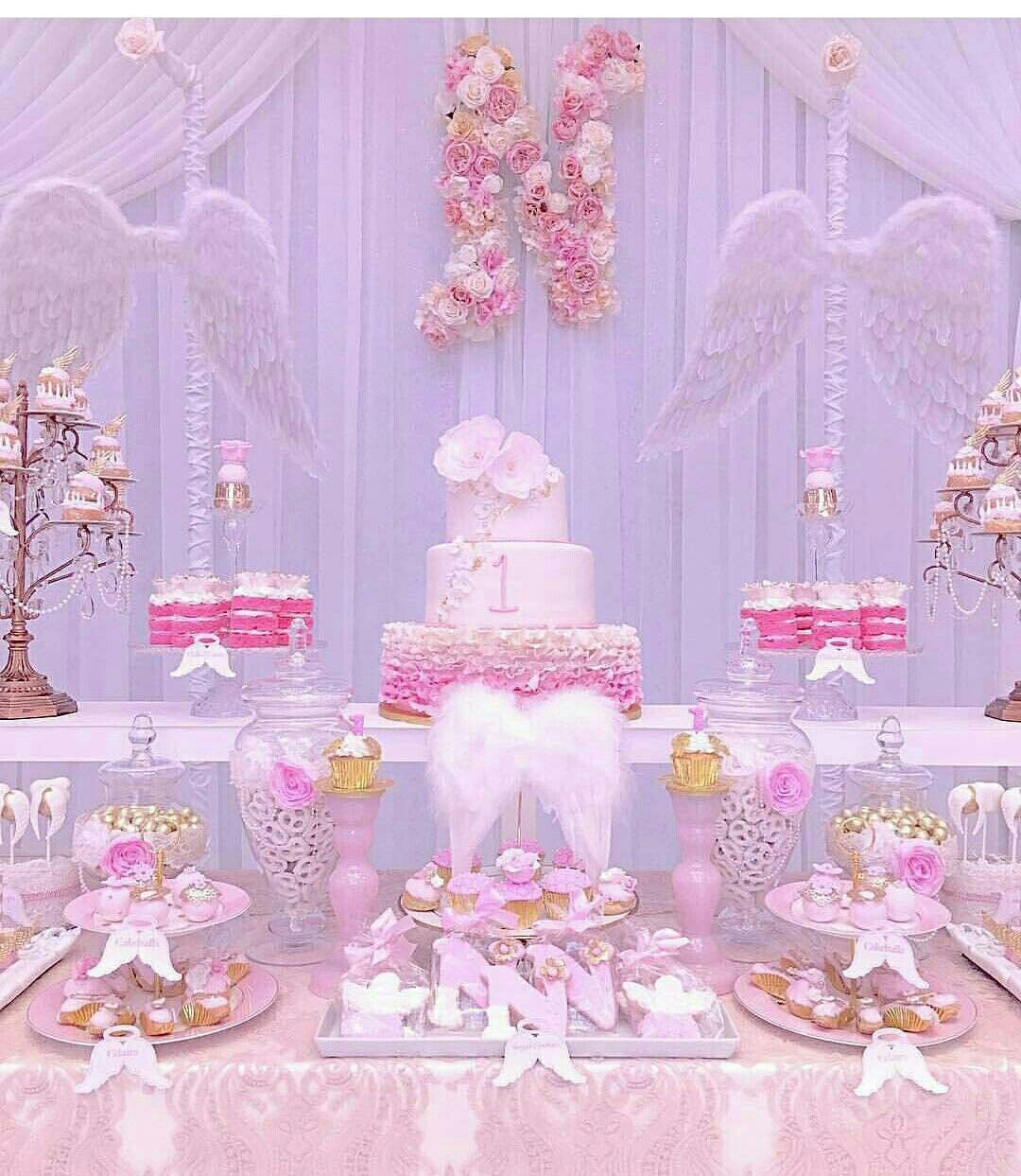 Angel Themed Design For A Baby Girl S Nursery: Angel Baby Shower