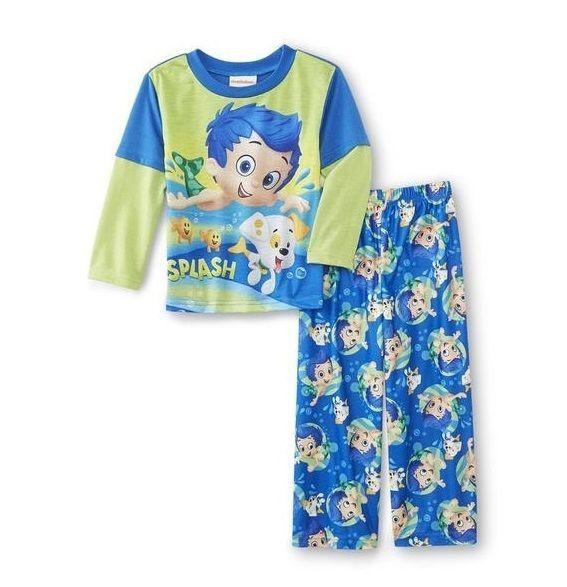 Bubble GUPPIES Pajamas Boy's 5T NeW 2 piece Shirt Pants Pjs Set GIL PUPPY #Nickelodeon #BubbleGuppies #BubbleGuppiesPajamas