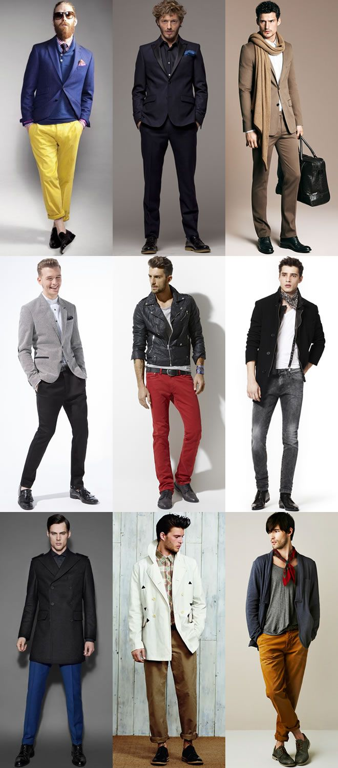 These Are Some Of The Clothing Used Today By Men And These Styles
