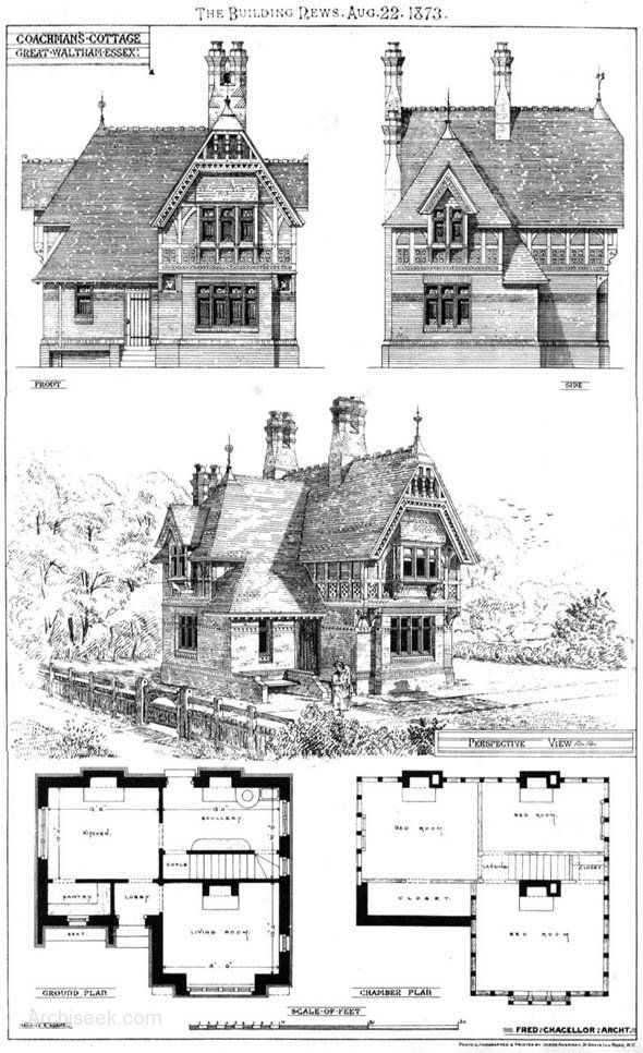 Architect: Fred Chancellor Published in The Building News
