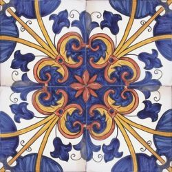 Hand Painted Decorative Tiles Endearing Portuguese Hand Painted Decorative Tiles  Ceramic Tiles Inspiration Design