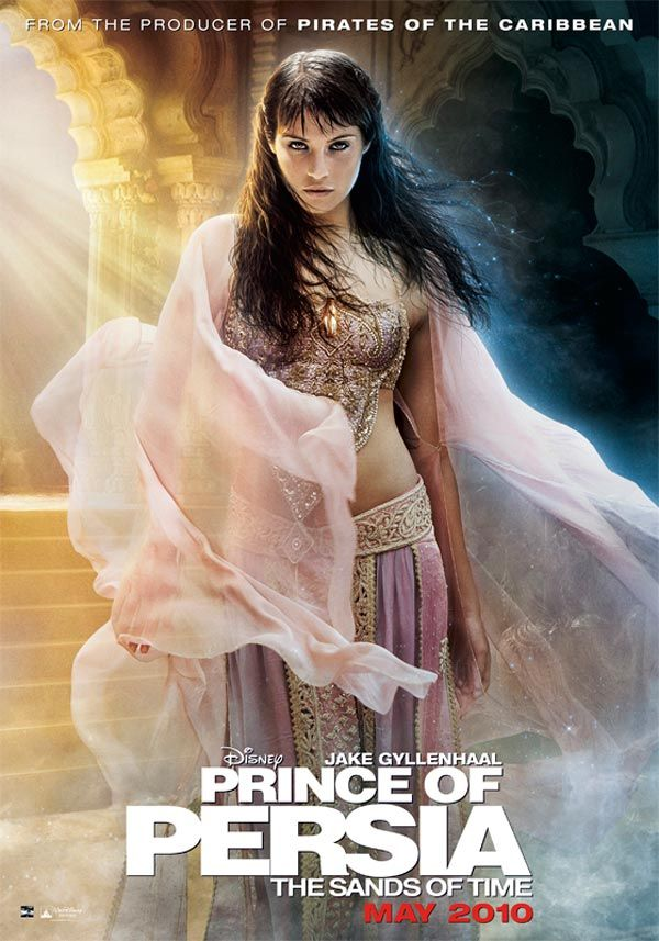Prince Of Persia The Sands Of Time Film Prince Of Persia Prince Of Persia Movie Gemma Arterton