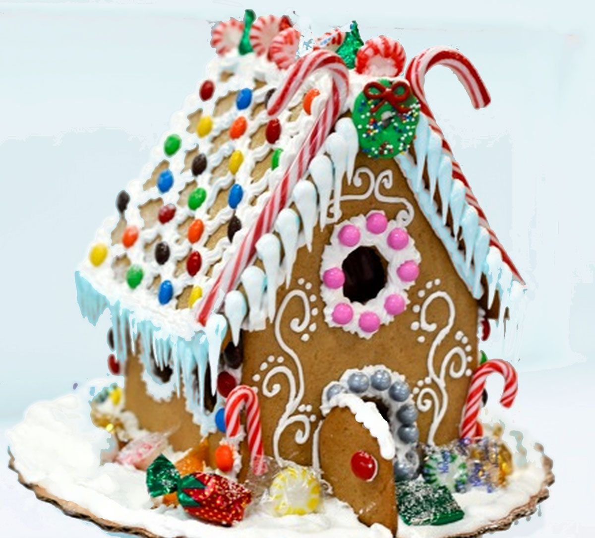 Beach Themed Gingerbread House: Gingerbread House Ideas