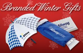 Looking for helpful and practical winter gift ideas? Umbrellas and ice scrapers are very popular promotional give aways!