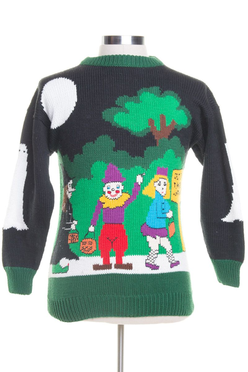 Trick or Treat!!!! Christmas sweaters, Halloween sweater