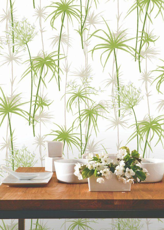 papier peint tropical notre s lection pour une d co exotique leroy merlin merlin et papier. Black Bedroom Furniture Sets. Home Design Ideas