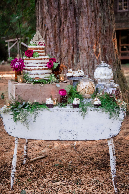 Camp Style Wedding